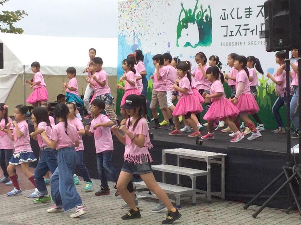 スポーツフェスティバルで踊りました!